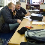 Workington Amateur Radio Club operating GB2SEA from Workington Lifeboat Station during SOS Radio Week 2011