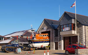 Barmouth Lifeboat during SOS Radio Week 2010