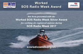 SOS Radio Week Certificate